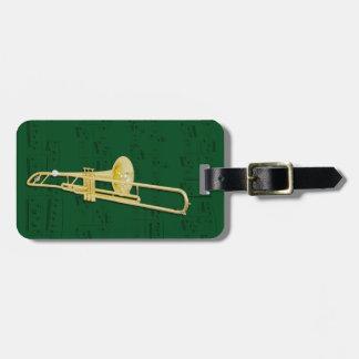 Étiquette À Bagage Étiquette de bagage - trombone (valve) -
