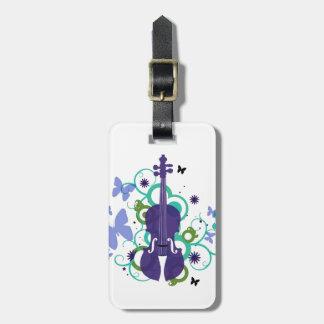 Étiquette À Bagage Étiquette de Cadeau-Bagage de violon