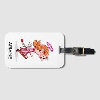 Étiquette À Bagage Étiquette du bagage de LULU avec la fente de carte