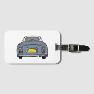 Étiquette À Bagage Étiquette grise de bagage de voiture de Lapis