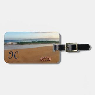 Étiquette À Bagage Étiquette hawaïenne de bagage de Lei