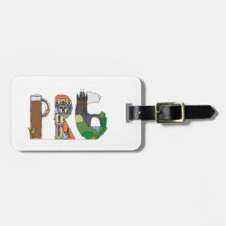 Étiquette À Bagage Étiquette | PRAGUE, CZ (PRG) de bagage
