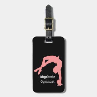 Étiquette À Bagage Étiquettes de bagage de gymnastique rythmique