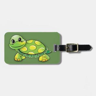 Étiquette À Bagage Étiquettes de bagage de tortue
