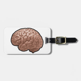 Étiquette À Bagage Étiquettes de bagage d'esprit humain