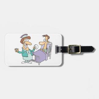 Étiquette À Bagage Étiquettes de bagage d'infirmière et de patient