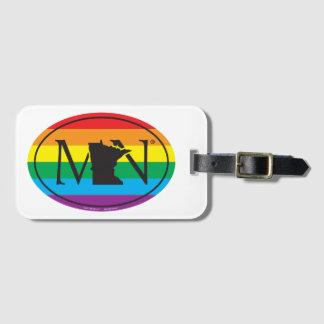 Étiquette À Bagage Euro de fierté d'état de LGBT : Manganèse