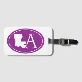 Étiquette À Bagage Euro de fierté d'état : LA Louisiane