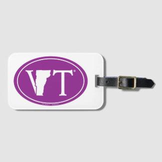 Étiquette À Bagage Euro de fierté d'état : VT Vermont