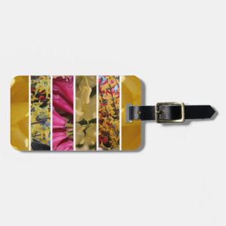 Étiquette À Bagage Fleurs en composition en fleur