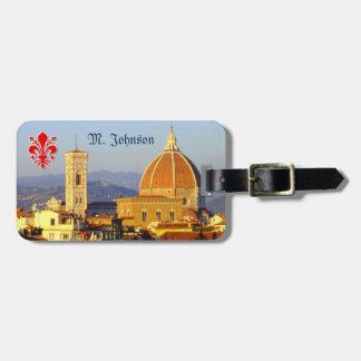 Étiquette À Bagage Florence, Italie - Santa Maria del Fiore