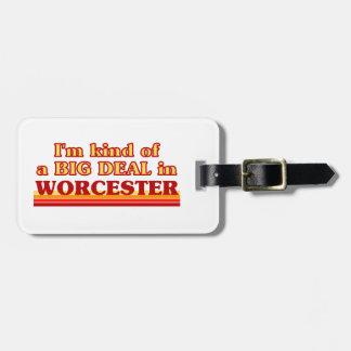 Étiquette À Bagage Genre d'I´m d'affaire à Worcester