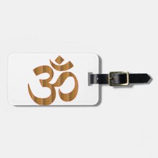 Étiquette À Bagage GIF d'hindouisme de chant de méditation de yoga