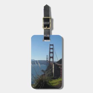 Étiquette À Bagage Golden gate bridge