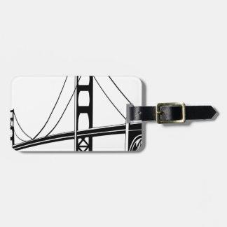 Étiquette À Bagage Golden Gate San Francisco