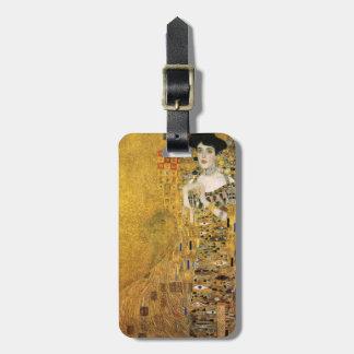 Étiquette À Bagage GUSTAV KLIMT - Portrait d'Adele Bloch-Bauer 1907