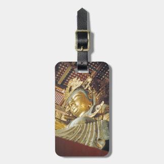 Étiquette À Bagage Identification facile de statue d'or japonaise