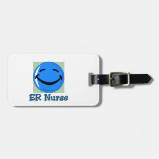 Étiquette À Bagage Infirmière d'à haute fréquence ER