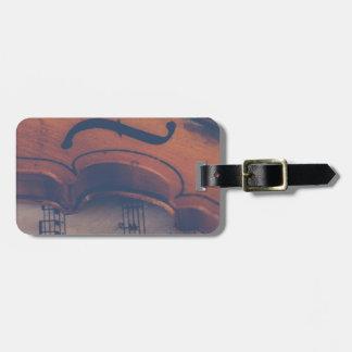 Étiquette À Bagage Instrument de musique de classique d'instrument de