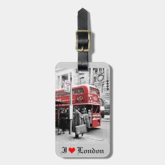 Étiquette À Bagage J'aime Londres