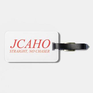 Étiquette À Bagage JCAHO : Directement, aucun chasseur
