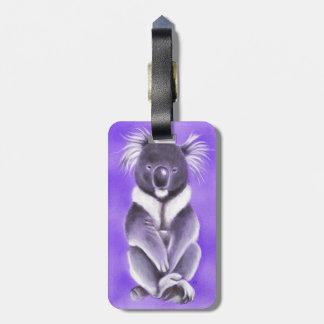Étiquette À Bagage Koala de Bouddha