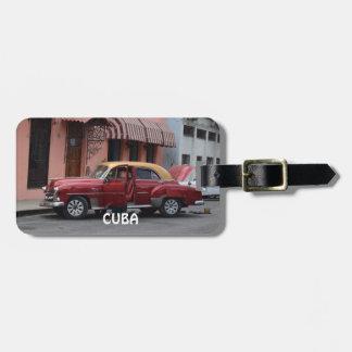 Étiquette À Bagage La Havane Cuba
