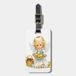 Étiquette À Bagage La plus petite étiquette d'ange pour des sacs