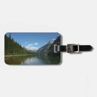 Étiquette À Bagage Lac I avalanche en parc national de glacier