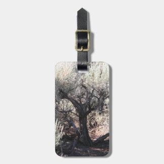 Étiquette À Bagage L'arbre