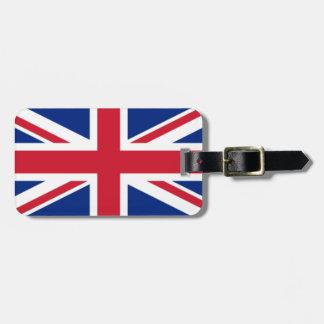Étiquette À Bagage Le drapeau du Royaume-Uni
