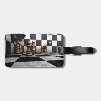 Étiquette À Bagage Le Roi Chess Play