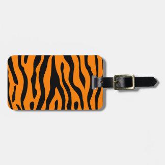 Étiquette À Bagage Le tigre a barré l'étiquette de bagage - appeler