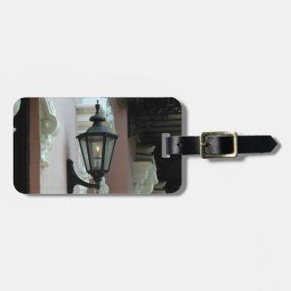 Étiquette À Bagage Lumière du gaz, antiquité, cru, noir, photographie
