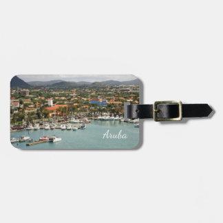 Étiquette À Bagage Marina d'Aruba personnalisée