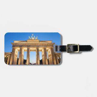Étiquette À Bagage Massif de roche Berlin de Brandenburger