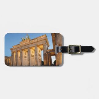 Étiquette À Bagage Massif de roche de Brandenburger à Berlin