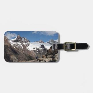 Étiquette À Bagage Montagnes de parc national de glacier, Argentine 2
