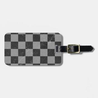 Étiquette À Bagage Motif d'échecs