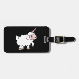 Étiquette À Bagage Moutons de licorne