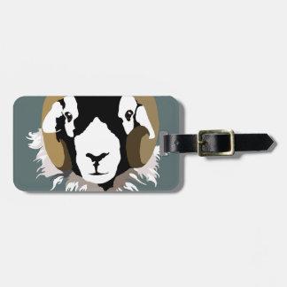 Étiquette À Bagage Moutons de Swaledale