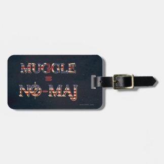 Étiquette À Bagage Muggle = NO--Commandant