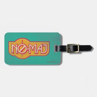 Étiquette À Bagage NO--Commandant rouge et jaune Badge