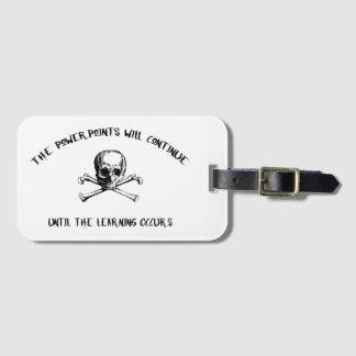 Étiquette À Bagage Pirate de L&D