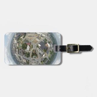Étiquette À Bagage Planète minuscule de Greensboro