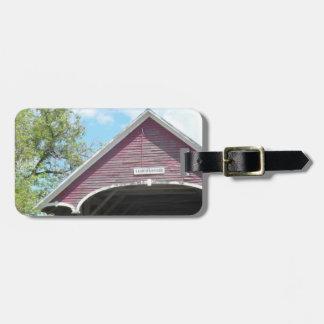 Étiquette À Bagage Pont couvert Vermont de Sanborn