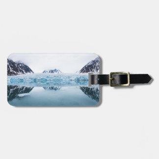 Étiquette À Bagage Réflexions de glacier, Norvège