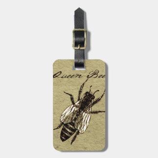 Étiquette À Bagage Reine des abeilles