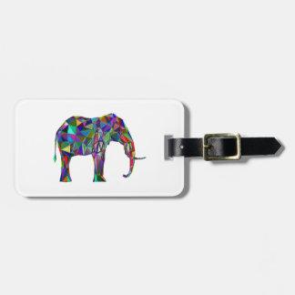 Étiquette À Bagage Renaissance d'éléphant
