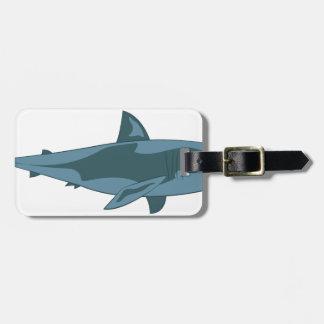 Étiquette À Bagage Requin